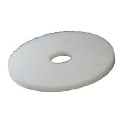 disque pads 400 mm blanc pour préparation des surfaces