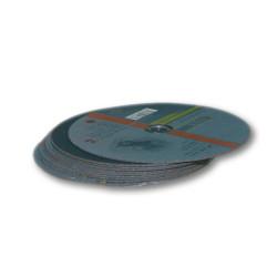 disque à tronçonner métaux plat 125 mm, alésage 22,2 mm