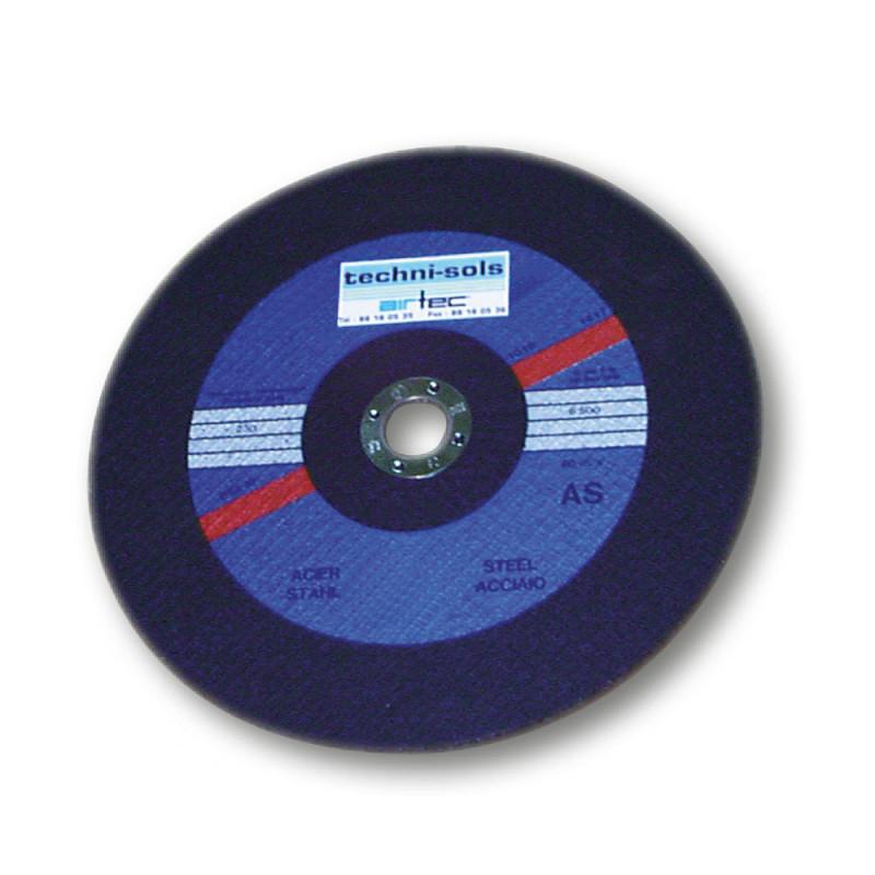 disque corindon plat 305 mm, épaisseur 2,5 mm, alésage 22,2 mm