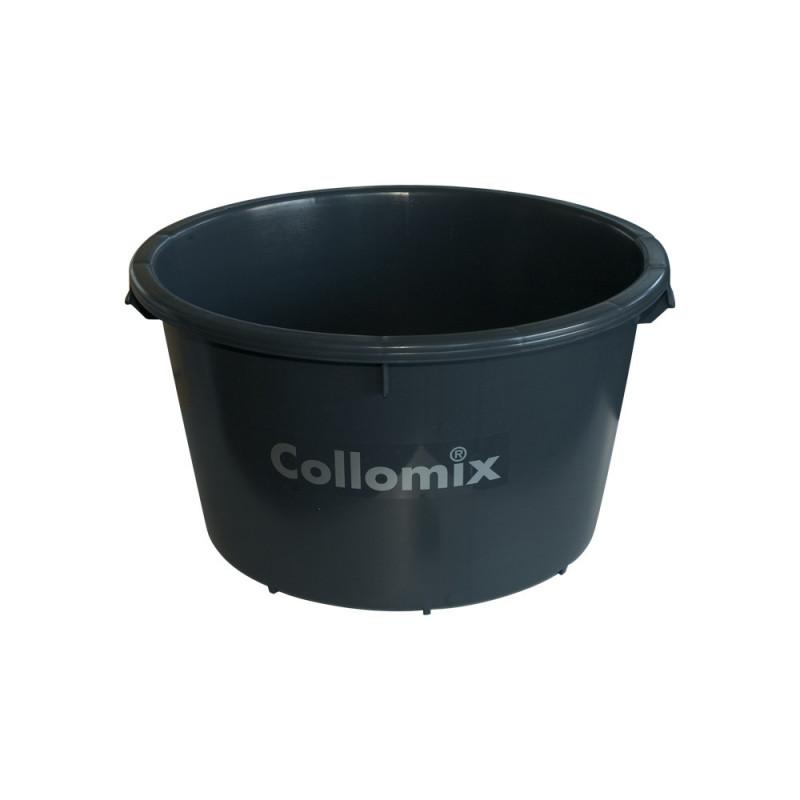 bac à eau rond Collomix 65 litres noir