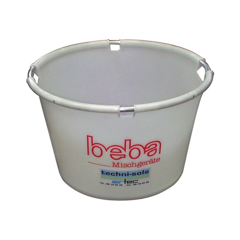 bac à eau rond renforcé 80 litres