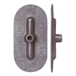 Injecteur Polypropylène plat oval