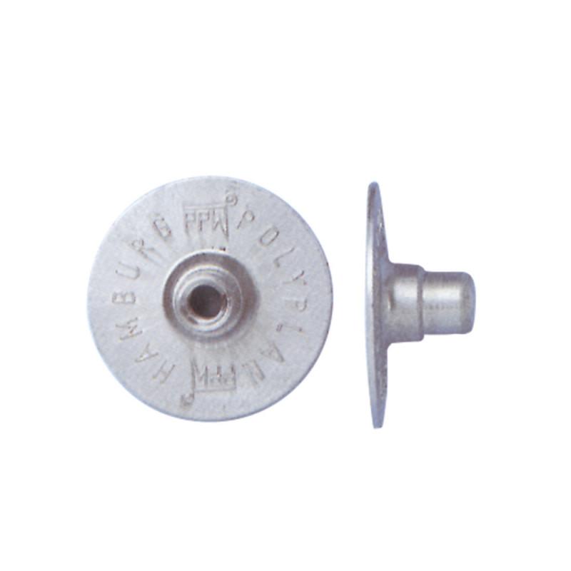 Injecteur en aluminium plat rond