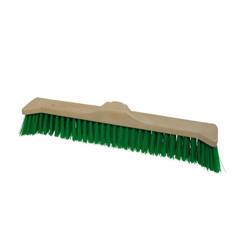Balai cantonnier vert, longueur 55 cm