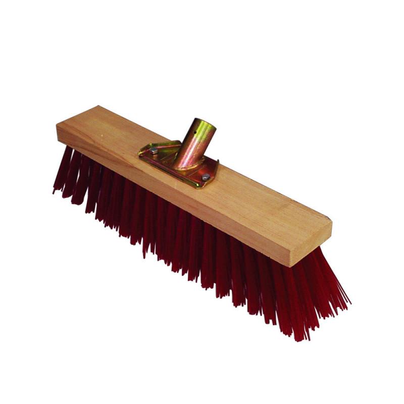 Balai Cantonnier rouge 31 cm