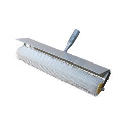 Débulleur avec monture et capot, picots pointus de 21 mm, largeur 500 mm