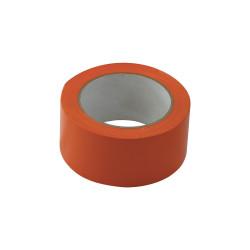 Ruban orange PVC de 50 mm par 33 m