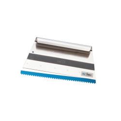 Raclette en aluminium 28 x 13 cm pour application des résines