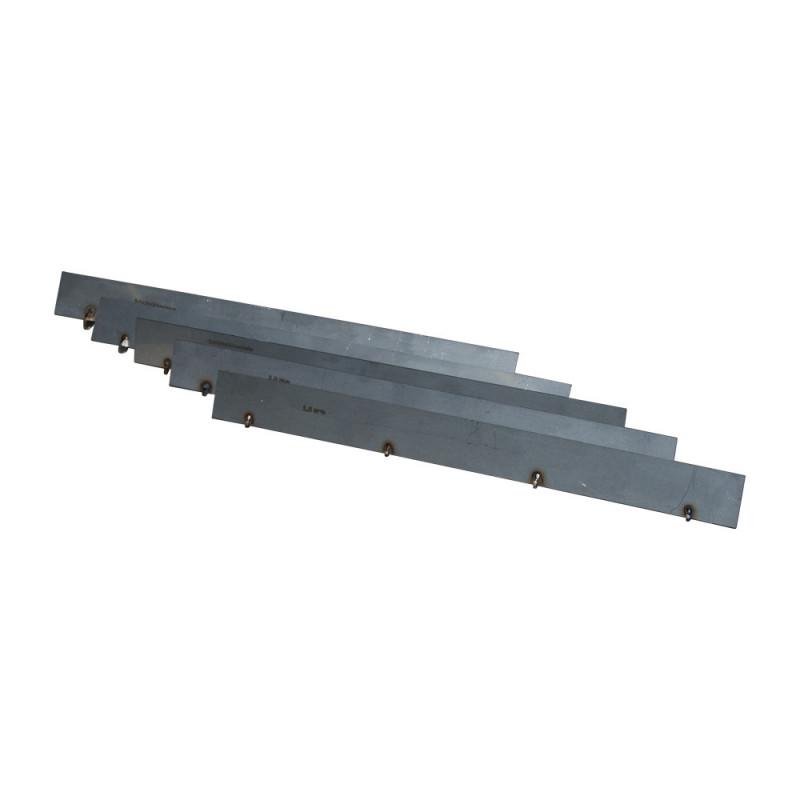 Lame interchangeable 28 cm, pour application de 4 mm de résine