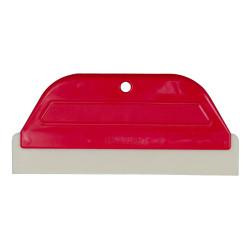 Raclette de faïencier 290 x 125 mm rouge