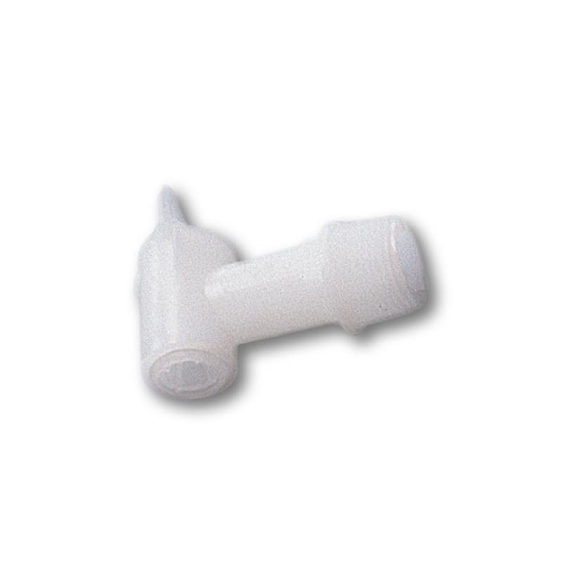 Robinet en plastique blanc pour fût