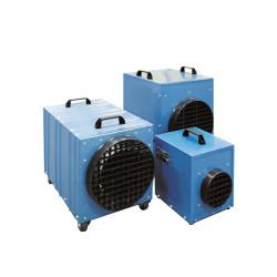Chauffage électrique bleu 400 V, 12 Kw