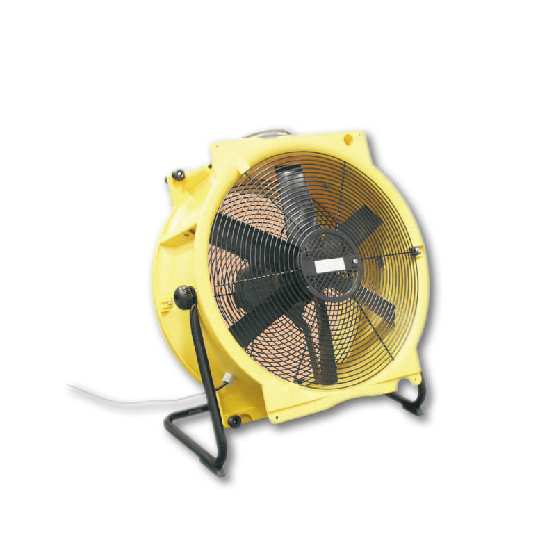 Ventilateur axial jaune