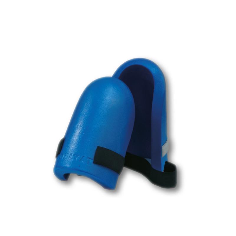 Genouillères ultra-légères bleues