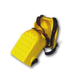 Genouillères anti-traces jaunes