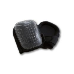 Genouillères à coquille rigide noires