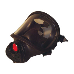 Masque noir complet pour travaux