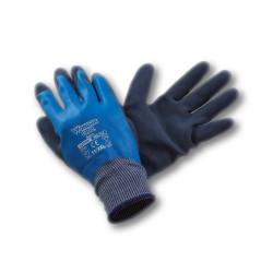 Paire de gants enduit et latex aqua