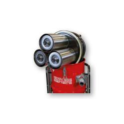 Cuve 50 Litres aspirateur TNS Evo 3 rouge