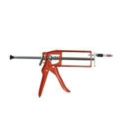 Pistolet rouge pour mise en place des injecteurs