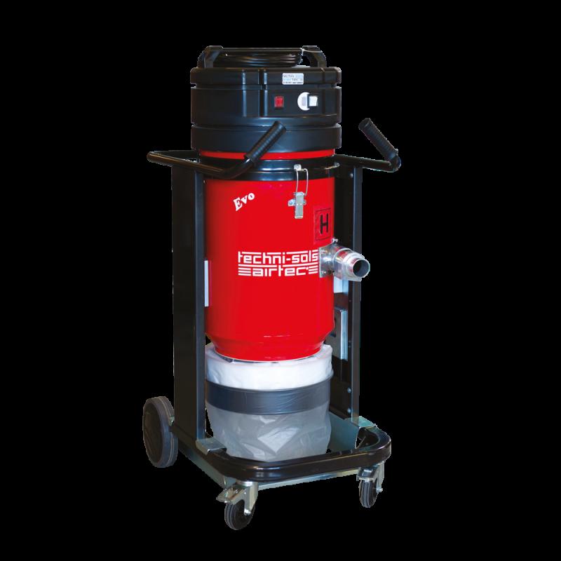 Aspirateur industriel TNS EVO 3 rouge