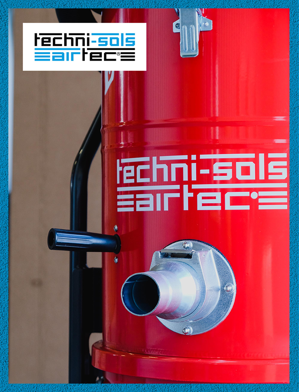 Aspirateur industriel à filtre étoile anti statique et filtration classe M